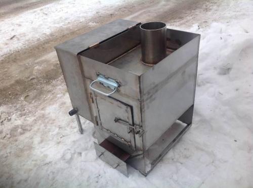 Печи стальные для бани. Какая печь для бани лучше чугунная или стальная
